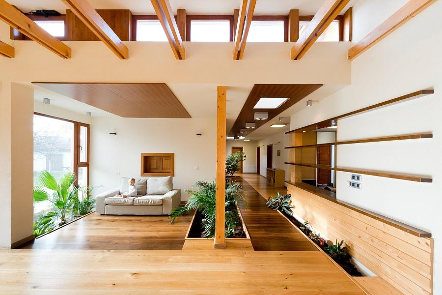 casa de lemn arad